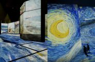 Van Gogh renderings. Images courtesy Beyond Van Gogh: An Immersive Experience.