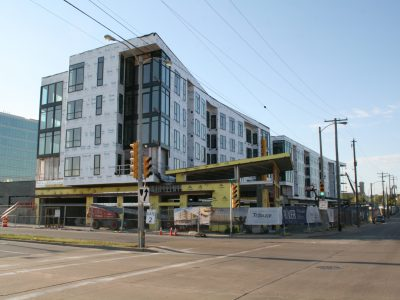Friday Photos: Tribute Apartments Near Completion