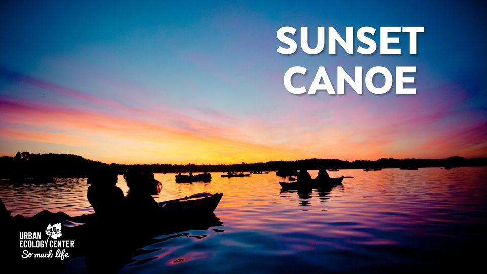 Sunset Canoe on the Milwaukee River