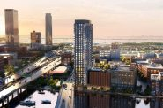 333 N. Water St. tower proposal. Rendering by Solomon Cordwell Buenz.
