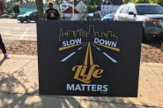"The ""Slow Down, Life Matters"" campaign will focus on Sherman Park and other Milwaukee neighborhoods this summer. Photo provided by Coalition for Safe Driving MKE/NNS."