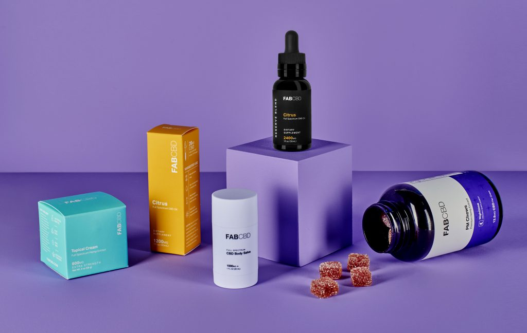 FABCBD products. Image from FABCBD.