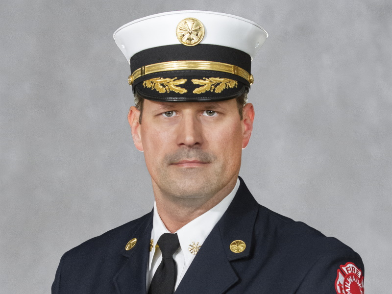 Aaron Lipski. Photo from the Milwaukee Fire Department.