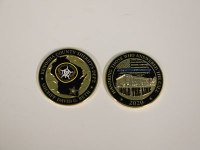 Coins Celebrate Policing of Kenosha Protests