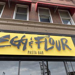 Egg & Flour Bay View. Photo taken April 20th, 2021 by Cari Taylor-Carlson.