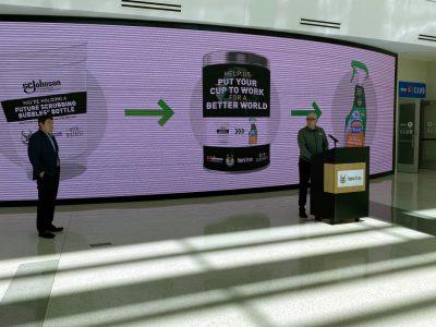 Bucks Partner with SC Johnson on Plastic Recycling