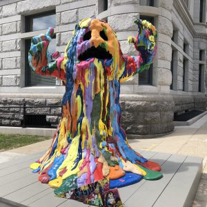 """Blob Monster"" by Tony Tasset. Photo by Jeramey Jannene."