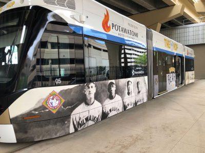 Transportation: Brewers, City Unveil Negro Leagues Streetcar