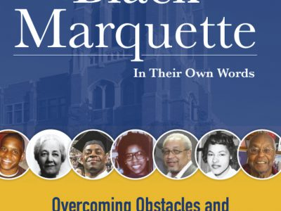 """Black Marquette"" book sales to benefit Ralph H. Metcalfe, Sr. Scholarship Fund"
