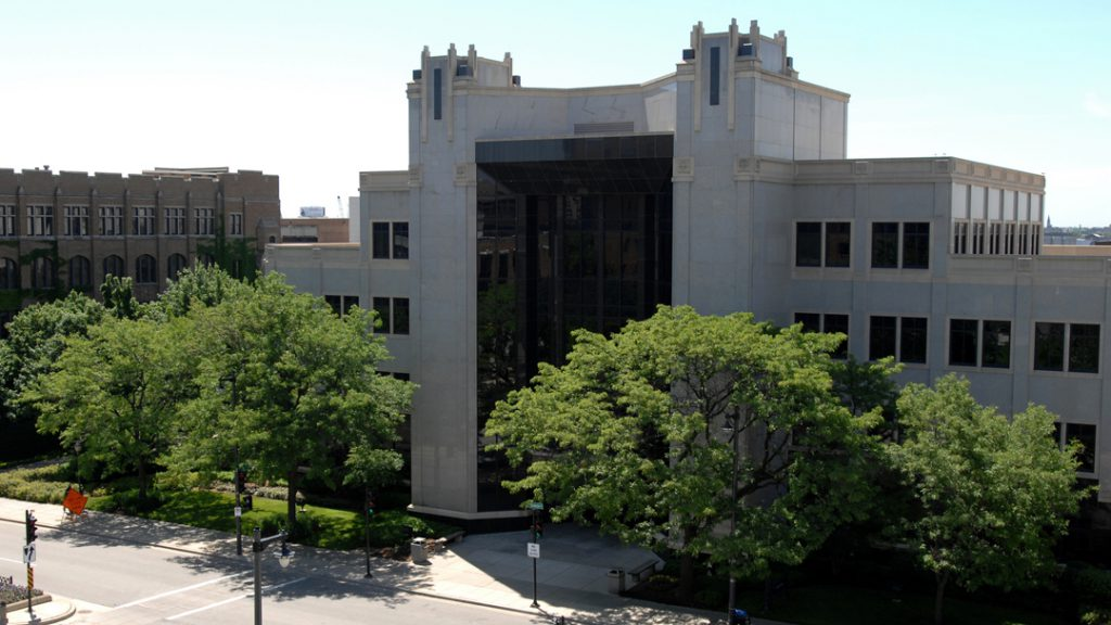 Cudahy Hall. Photo courtesy of Marquette University.
