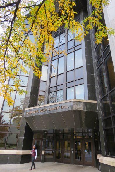 Katharine Reed Cudahy Hall. Photo courtesy of Marquette University.