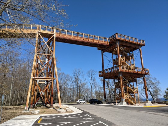The iconic Eagle Tower at Peninsula State Park is set to open to the public on Wednesday, May 19. / Photo Credit: Wisconsin DNR