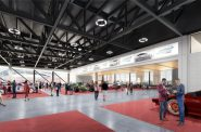 Wisconsin Center expanded exhibition hall. Rendering by tvsdesign and Eppstein Uhen Architects.