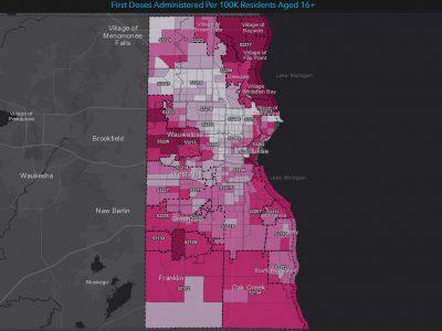 City Hall: Vaccination Rate Below 20% in One Milwaukee Neighborhood