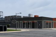 New Harley-Davidson Museum event venue. Rendering by Morton Buildings.
