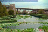 Burnham Canal wetland restoration. Rendering by Ricardo J. Garcia-Diaz.