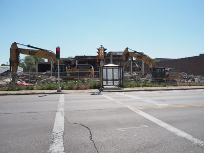 Eyes on Milwaukee: Walker's Point Building Being Demolished