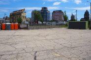 The Tap Yard site, 1301 N. Edison St. Photo by Jeramey Jannene.