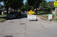 """An """"active street"""" at N. 25th St. and W. Hope Ave. Photo by Jeramey Jannene."""