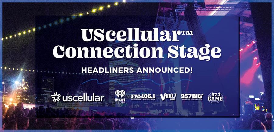 Summerfest Announces UScellular™ Connection Stage Headliners and Performance Dates