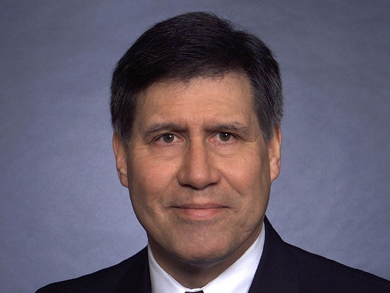 Edmund Manydeeds III. Photo from the University of Wisconsin System Board of Regents.