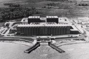 Point Beach Nuclear Plant, circa 1973. (Public Domain).