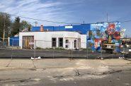 Construction at former Sven's Cafe site, 2699 S. Kinnickinnic Ave. Photo by Jeramey Jannene.