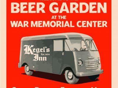 Kegel's Inn to Open One-of-a-Kind Beer Garden Experience at War Memorial Center