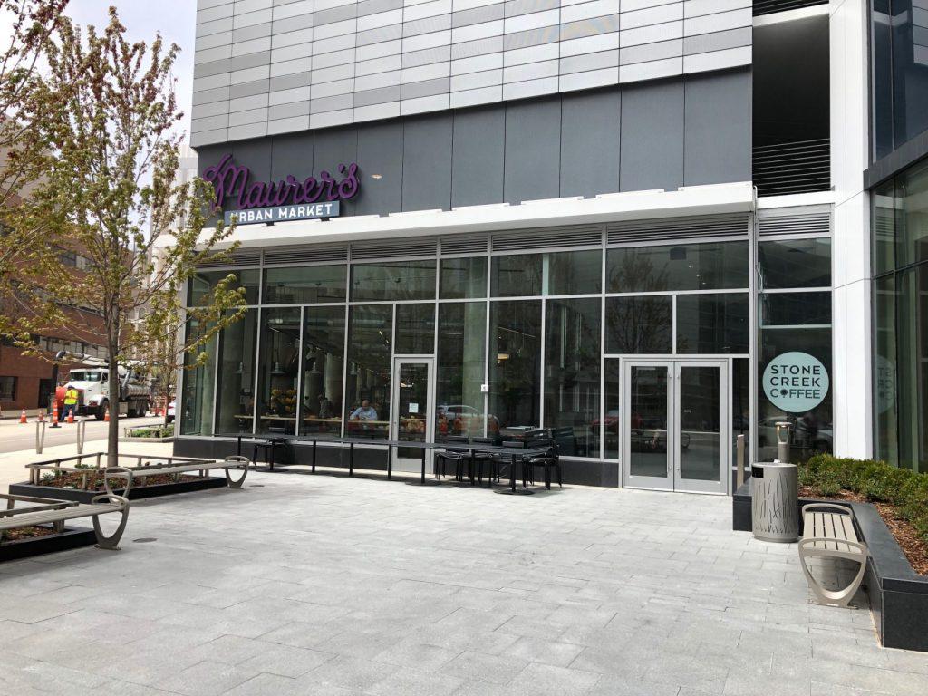 Retail space at 777 N. Van Buren St. Photo by Jeramey Jannene.