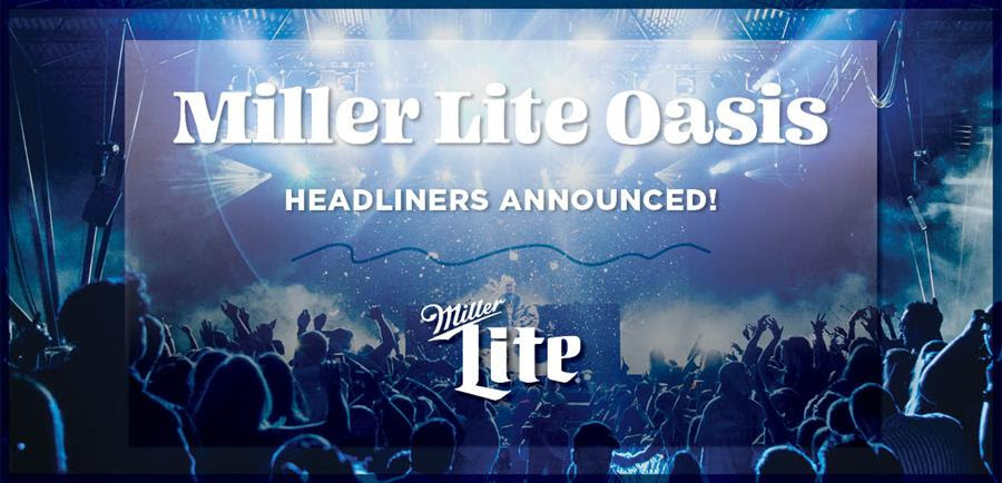 Summerfest Announces Miller Lite Oasis Headliners and Performance Dates