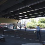 Pickleball Courts Installed Under I-794