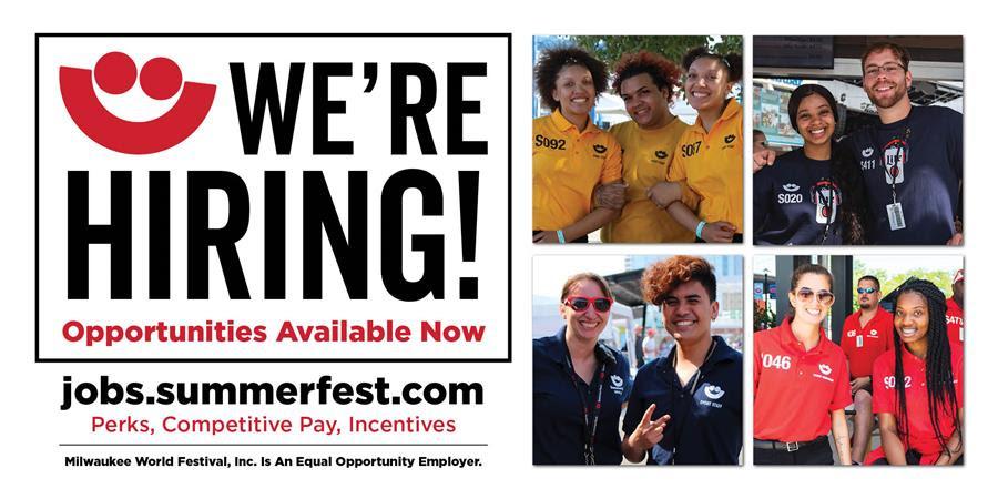 Milwaukee World Festival to Hold Job Fair on June 26 Hiring Over 2,000 Seasonal Workers