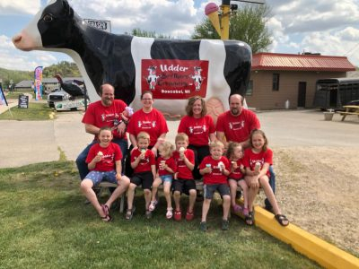 Family dairy farm finds sweet success