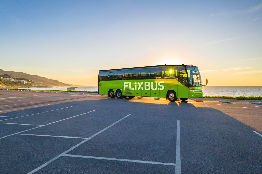 FlixBus. Image from FlixBus.