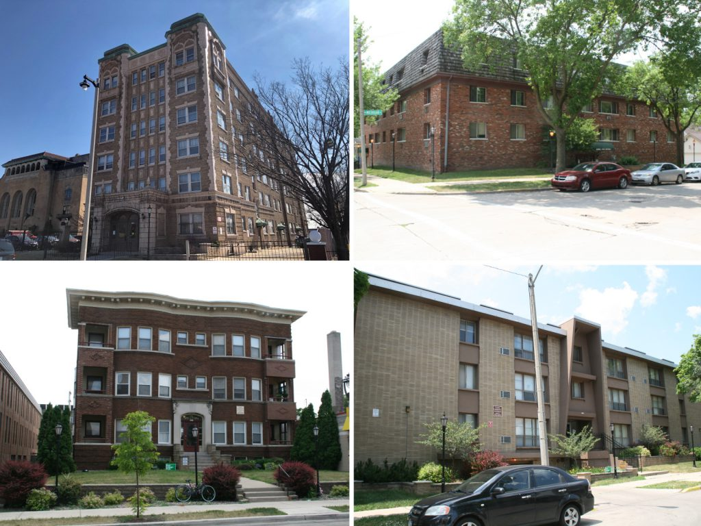 Some of the properties sold by Wiegand Investments in June 2021. Photos by Jeramey Jannene.