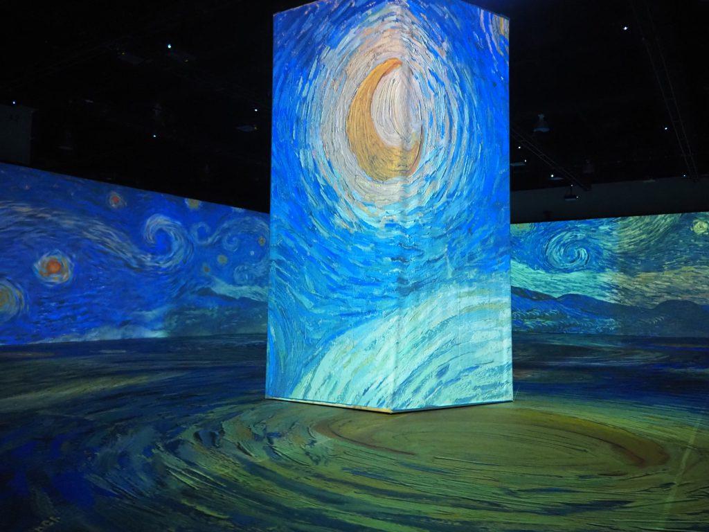 """""""Beyond Van Gogh"""" exhibit. Photo by Jeramey Jannene."""