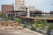 Rite-Hite R&D building under construction along W. Freshwater Way. Photo by Jeramey Jannene.