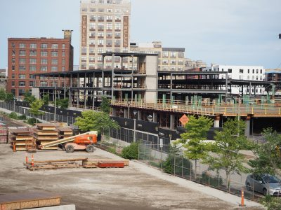 Friday Photos: Rite-Hite Building To Right Height