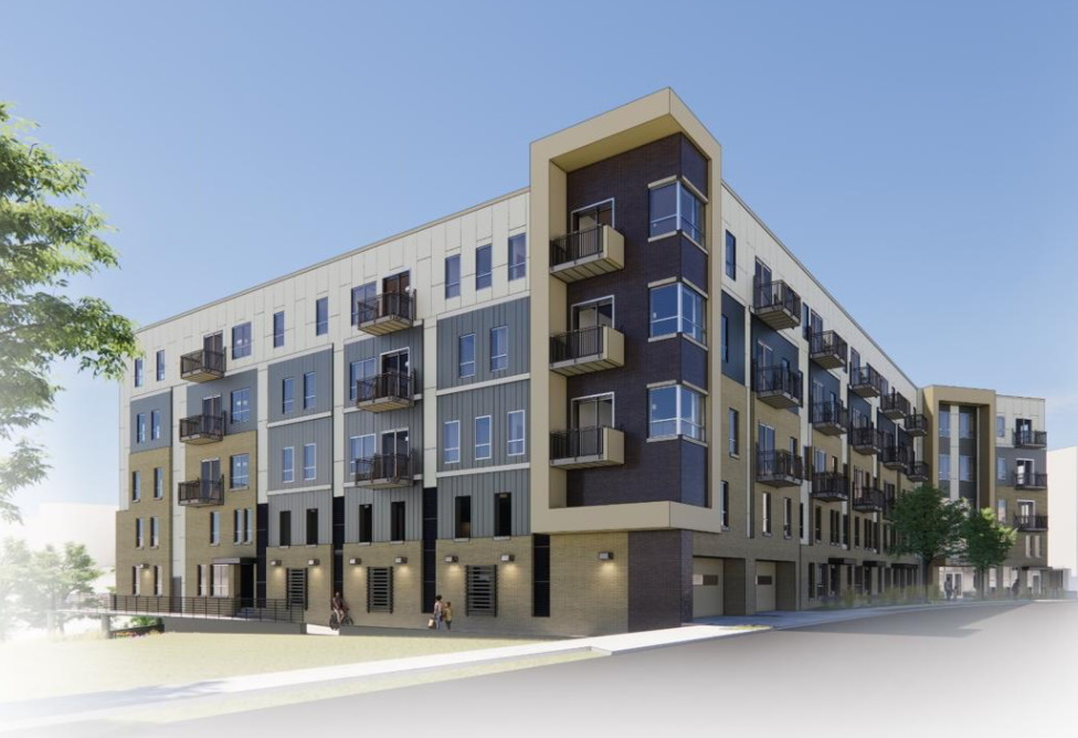 EIGHTEEN87 on Water. Rendering by Continuum Architects + Planners.