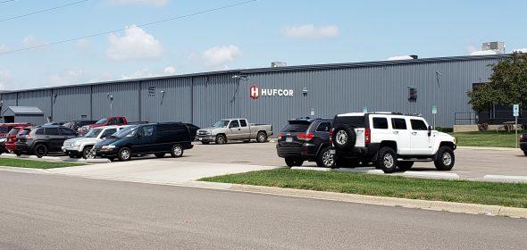 Hufcor's factory building in Janesville. Photo by Erik Gunn/Wisconsin Examiner.