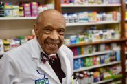 """Dr. Lester Carter turns 90 next month. """"I'm just the community druggist, nothing fancy,"""" he says. But our columnist disagrees. File photo by Sue Vliet/NNS."""