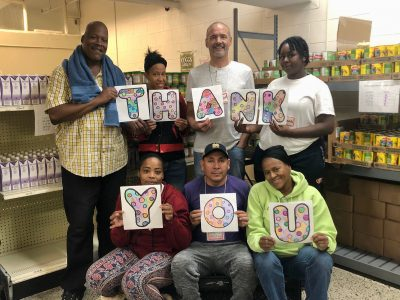 Food Pantry Served 36,600 Meals in 2020