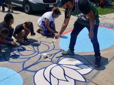 Crosswalk Murals as Reckless Driving Deterrent