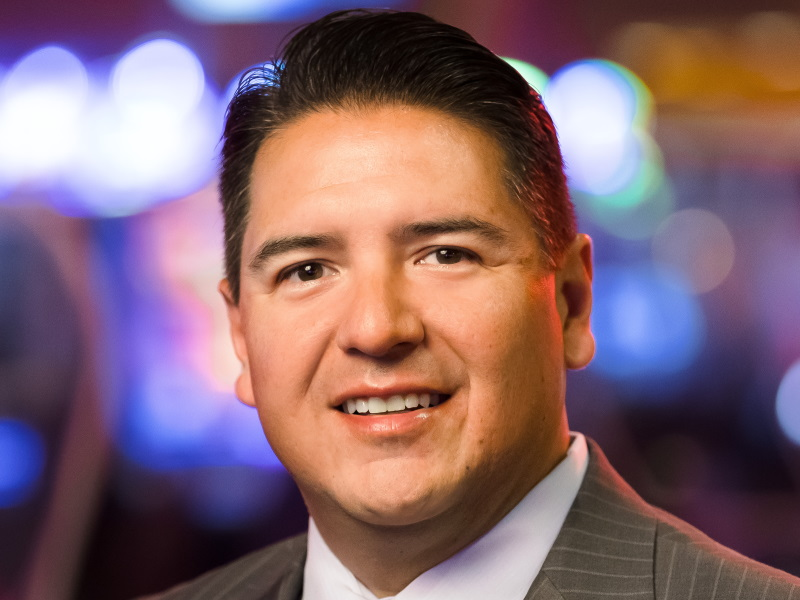 Dominic Ortiz. Photo courtesy of Potawatomi Hotel & Casino.