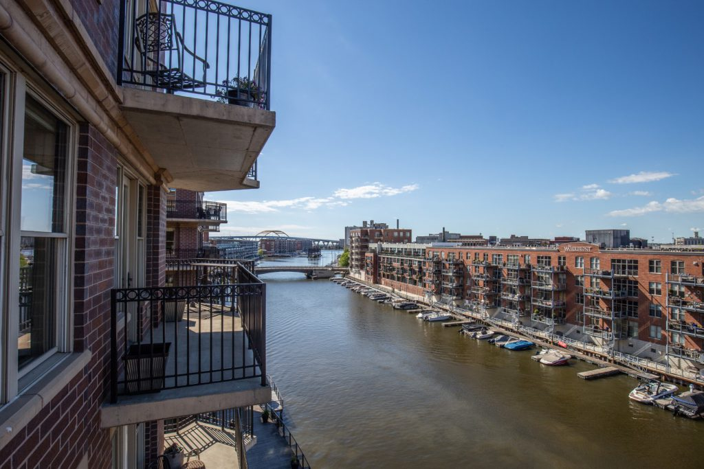 View from 102 N. Water St., #603. Photo courtesy of Corley Real Estate.