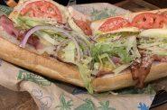 """Midwest Best"" club sandwich at Cheba Hut. Photo by Jeramey Jannene."