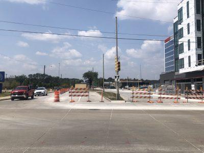 Transportation: Becher Street Receiving Road Diet, Raised Bike Lane
