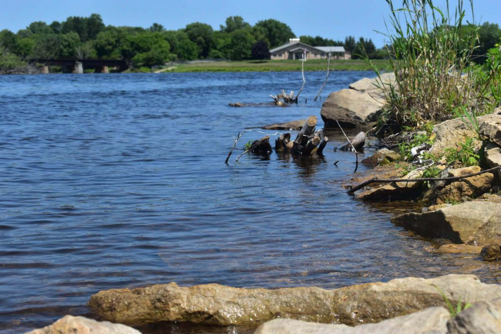 Menominee River. Photo by Laina G. Stebbins/Wisconsin Examiner.