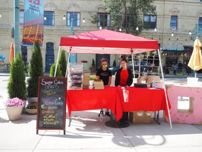 Sugar Cube Donuts Joins Outdoor Public Market