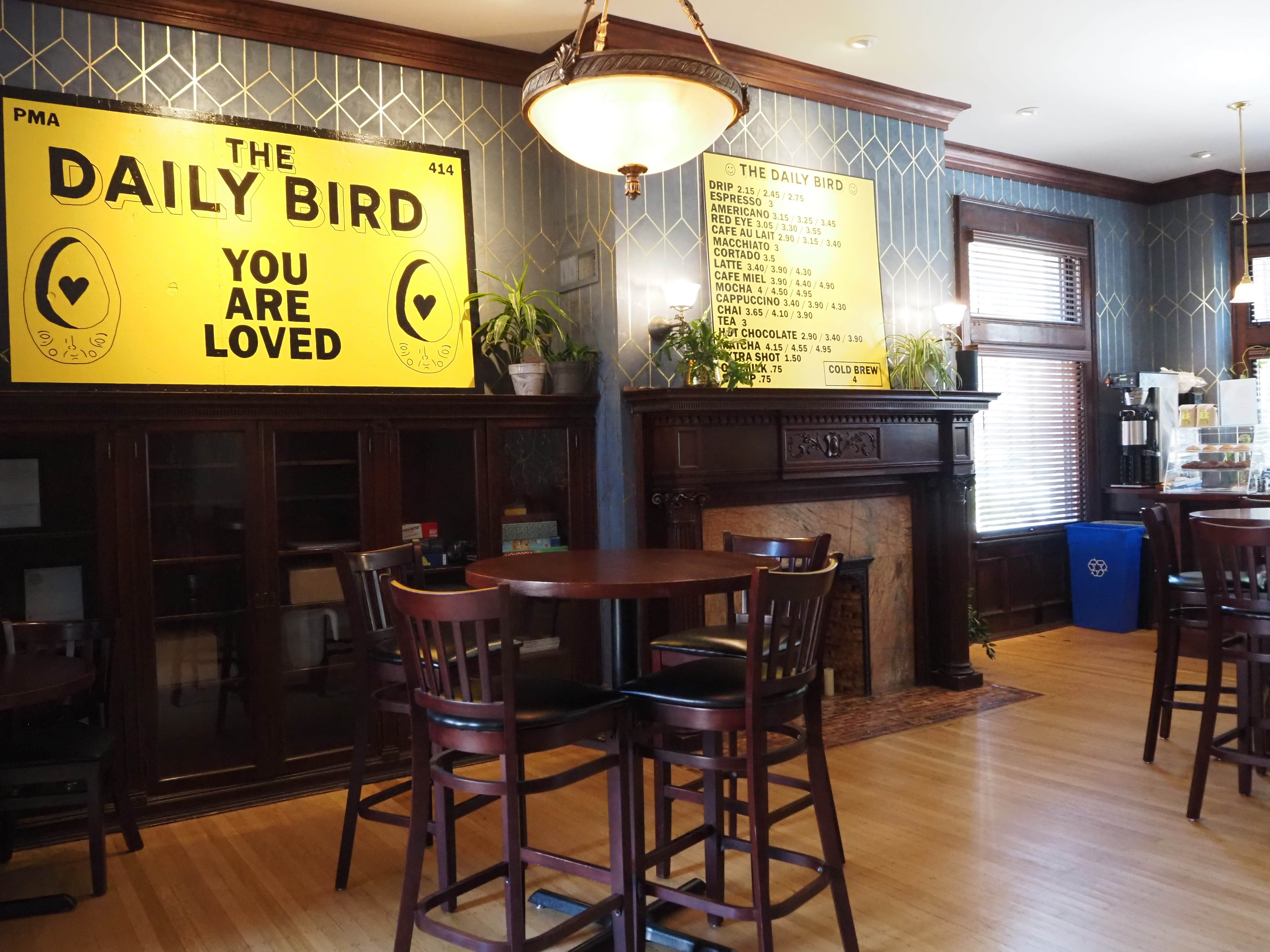 The Daily Bird at the Dubbel Dutch Hotel. This picture was taken by Hope Moses. All rights reserved.